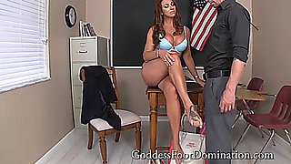Goddess Brianna - Principal Caught Spying