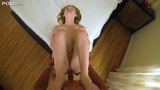 pov action with lanna carter, a phat ass girl with angelic face