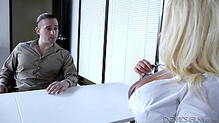 brandi has the biggest tits in the office @ big tit office chicks