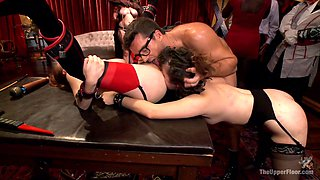 Ramon Nomar & Penny Pax & Aiden Starr & Bill Bailey in Costume Anal Orgy Part 2 - TheUpperFloor