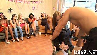 bachlorette party goes wild amateur video 7
