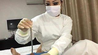 Asian Femdom Nurse