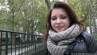Anna Polina - Dated Manuel in Paris