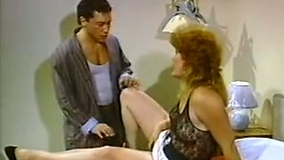 Mesmerizing and lean busty tranny fucks young and submissive man