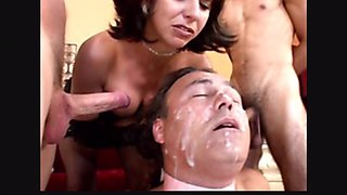 Latina college girl fucks boyfriend