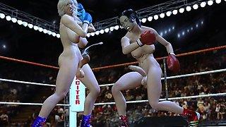 3D Big Dick Futa Fuck Girls!