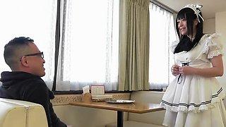 Incredible Japanese slut in Fabulous Teens, Maid JAV clip