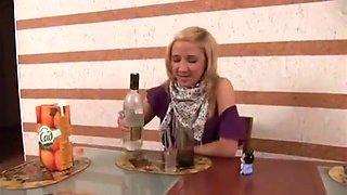 Drunk girl sex fun