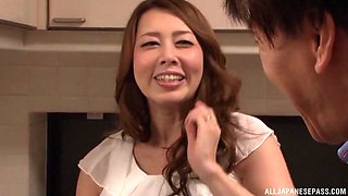 Kazama Yumi enjoys a hot sex session with a horny fellow