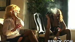 provocative slut smoking sex