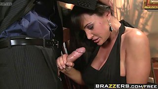 brazzers - real wife stories - winner winner sex during dinn