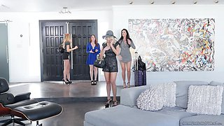 Mind-blowing lesbian action with an amazing milf India Summer