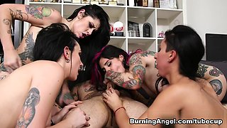 Horny pornstars Nikki Hearts, Lily Lane, Small Hands in Amazing Lesbian, Dildos/Toys xxx clip