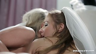 Bride Samantha Jolie gets fucked in her sexy butthole