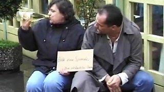 Homeless Fat Drunk Grandma Getting Fucked