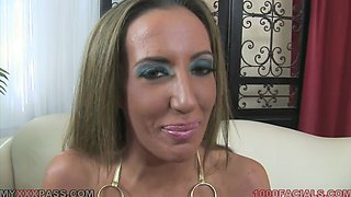 Nasty and perverted MILF Richelle Ryan in POV video