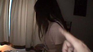 Horny Japanese chick Rumi Fujino in Fabulous Facial, Cumshots JAV video
