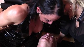 Domina Cherie Noir HARD AND UNCUT Extreme Domination kisses