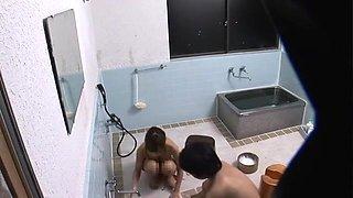 Incredible Japanese whore Sumire Matsu, Yuna Hirose in Best Showers, Blowjob JAV scene
