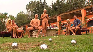 Sabrina Rose and other awesome babes having a wild outdoor orgy