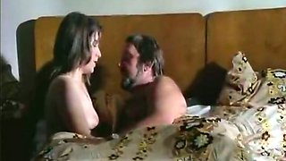 Insatiable housewife gives head to her horny neighbor