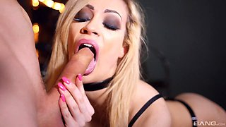 Awesome Chessie Kay finally gets her hands on a long hard cock