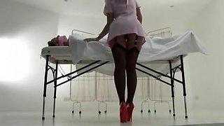 Hottest amateur Nurse, Fetish porn clip