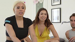 Luna Star and her hot pornstar friends want to share their sex stories