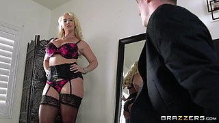 She Smothers The Groom